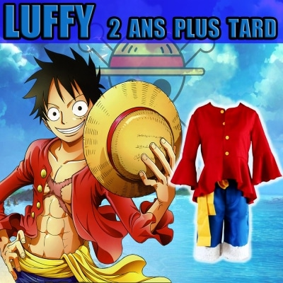 cosplay one piece luffy 2 ans plus tard