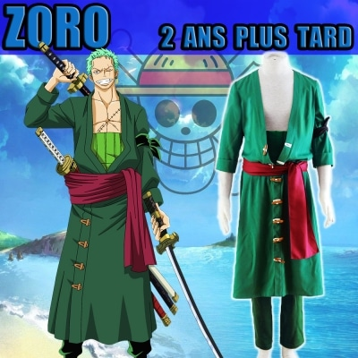 cosplay one piece zoro 2 ans plus tard
