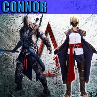 cosplay connor assassins creed