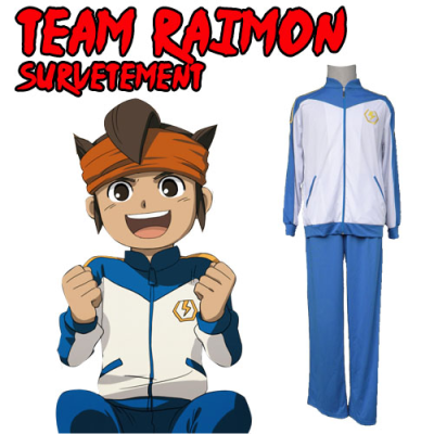 cosplay inazuma eleven survetement