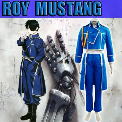 cosplay full metal alchimist mustang