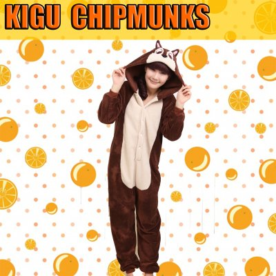 kigurumi chipmunks