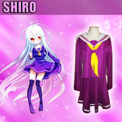 cosplay shiro dans no game no life