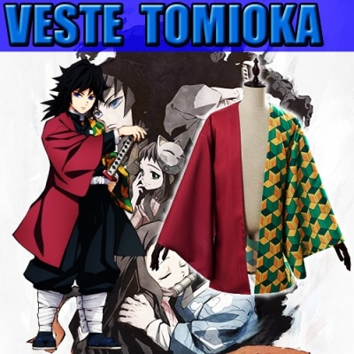 cape de tomioka dans demon slayer