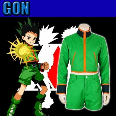 cosplay gon freecss dans hunter x hunter