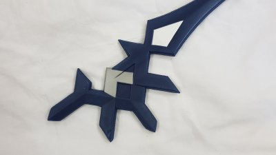 keyblade aqua rainfall en mousse