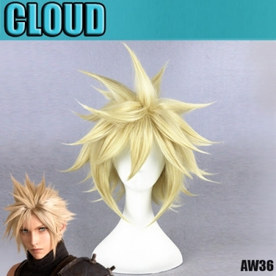 perruque final fantasy cloud aw36