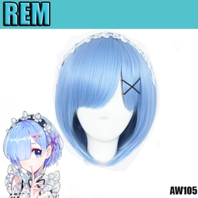 perruque re zero rem aw105